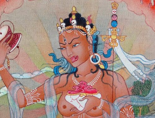 A prayer to Dakini Niguma